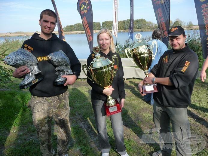 A tavalyi győztesek: Mišel Zadravec Carp Team Hungary