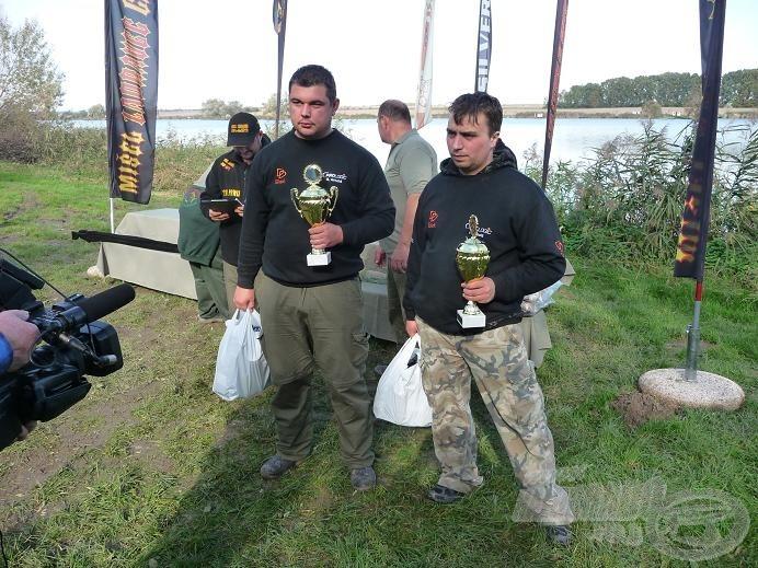 A tavalyi hetedik helyezett: Prologic DD Baits Team