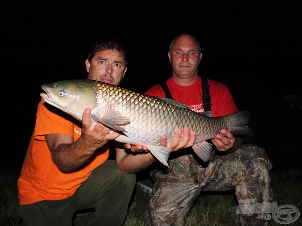 A Király Horgászbolt-Big Carp Team sem tartott éjszakai pihenőt