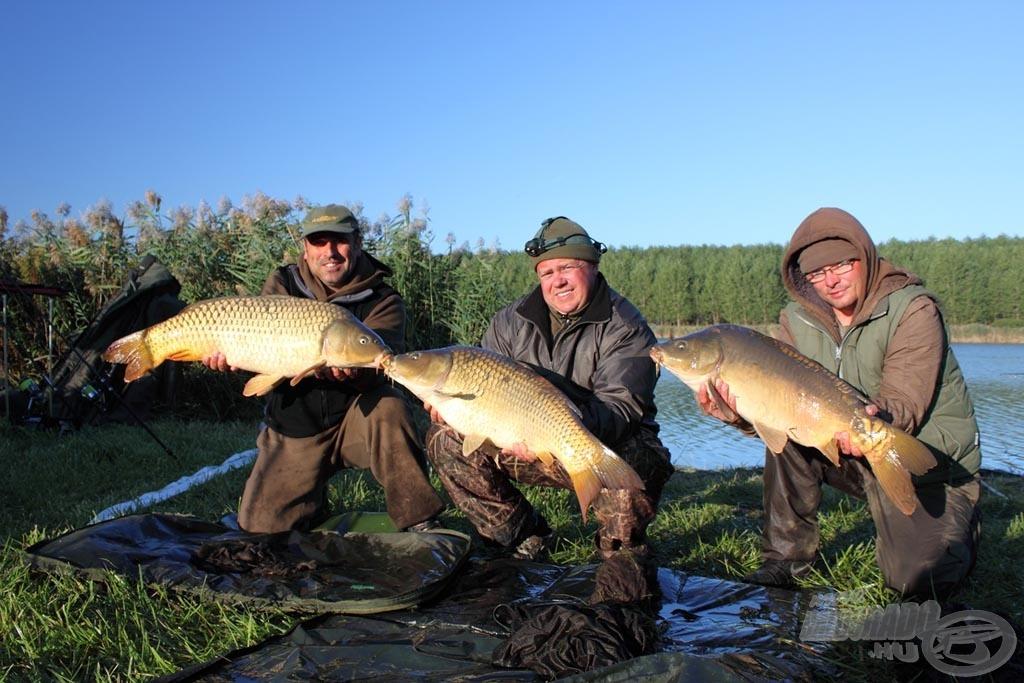 A C.C.Moore Team Hungary hatalmas távolságokból fogta a szép halakat
