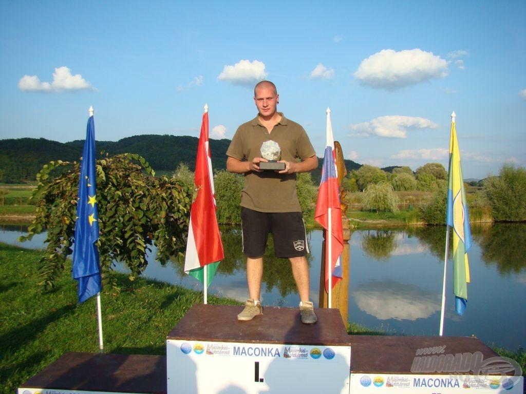 Vas Szilveszter, MB \'13 ifjúsági bajnok