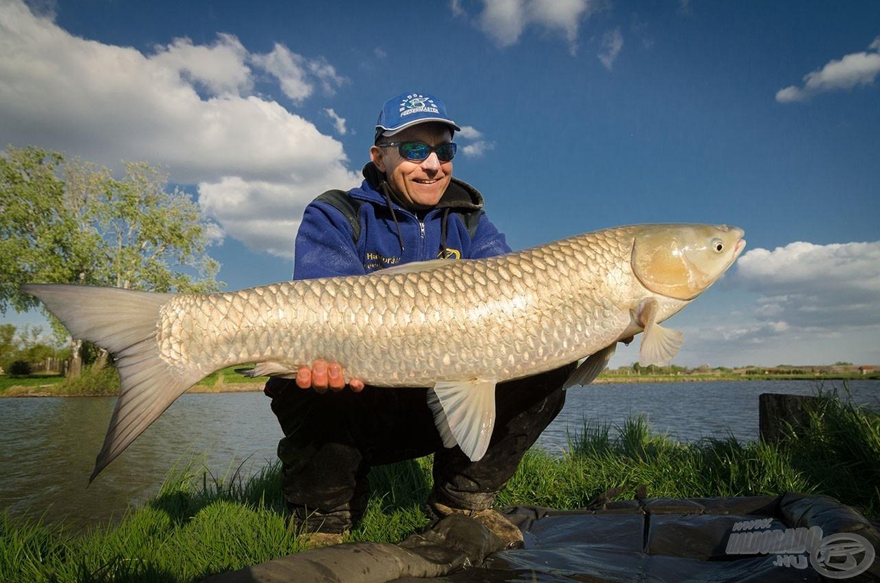 Időnként kapitális, 10 kg feletti halakkal is összehozott a jó sors