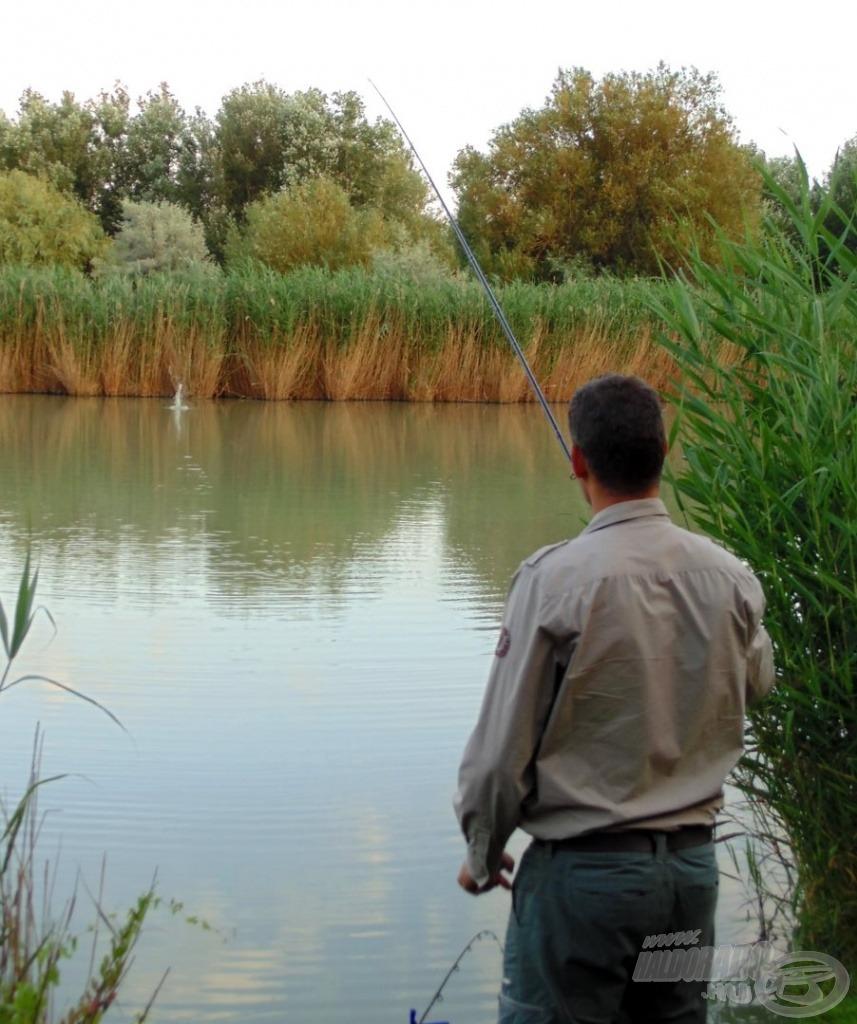 Rizikós a horgászhely választása, de bátraké a szerencse!