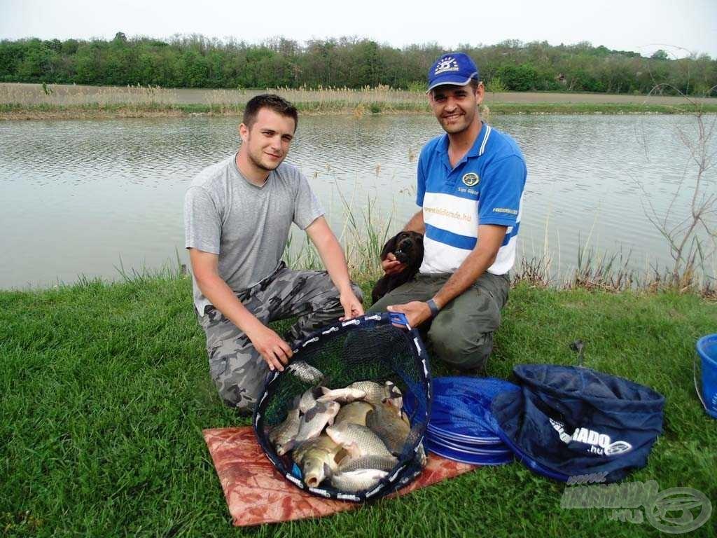 Szép halakat fogtunk, jól éreztük magunkat, jó kis nap volt