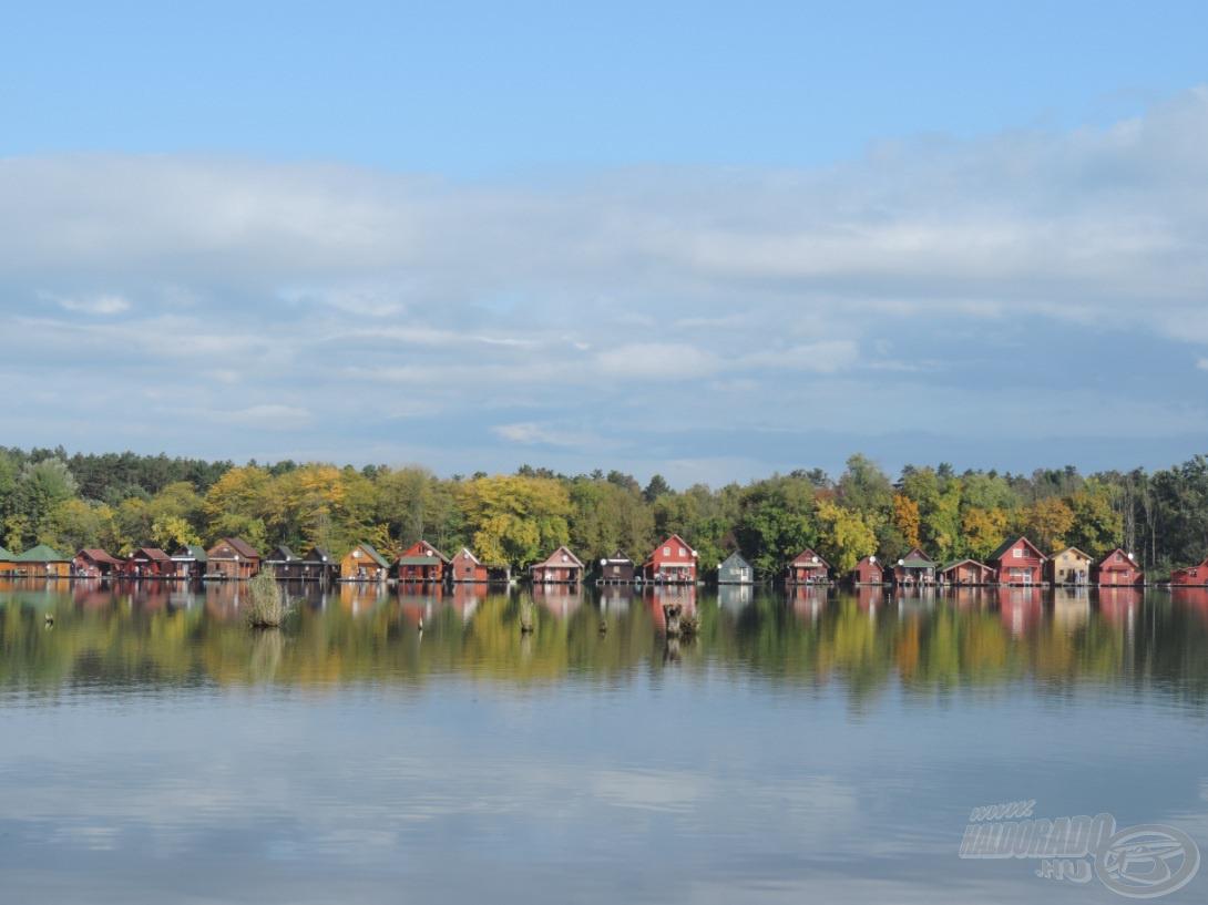 Tájkép a tóról