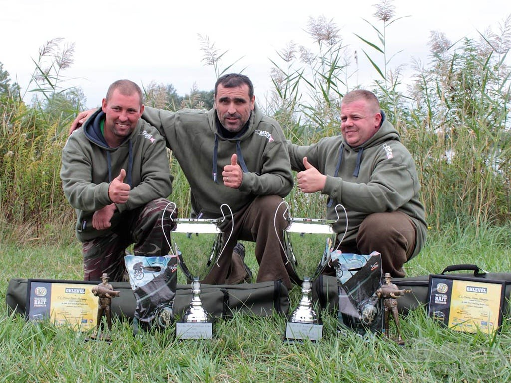 I. helyezett csapat: C.C.Moore Team Hungary