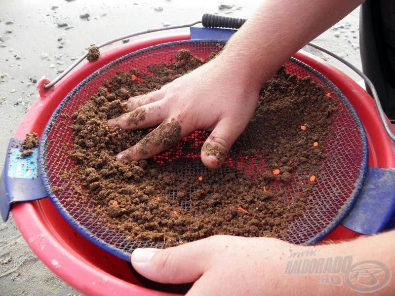 A rostálás a megfelelő oldódású etetőanyag alapfeltétele