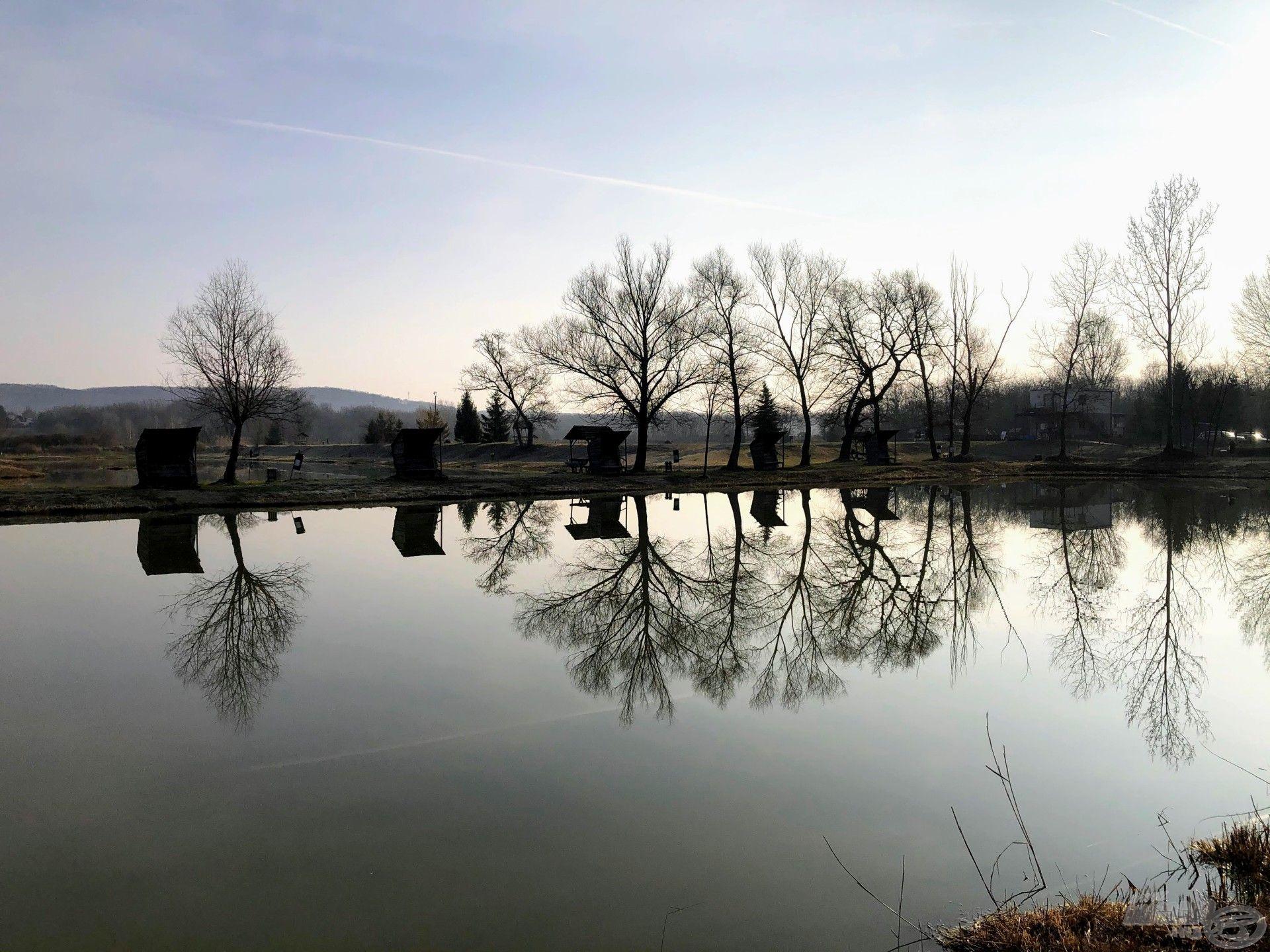 Ordas-tavak, VIP-tó, 6-os állás