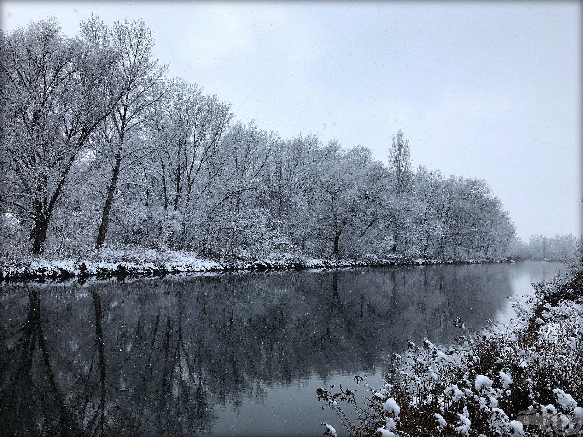 Fehér karácsony a Zsitván