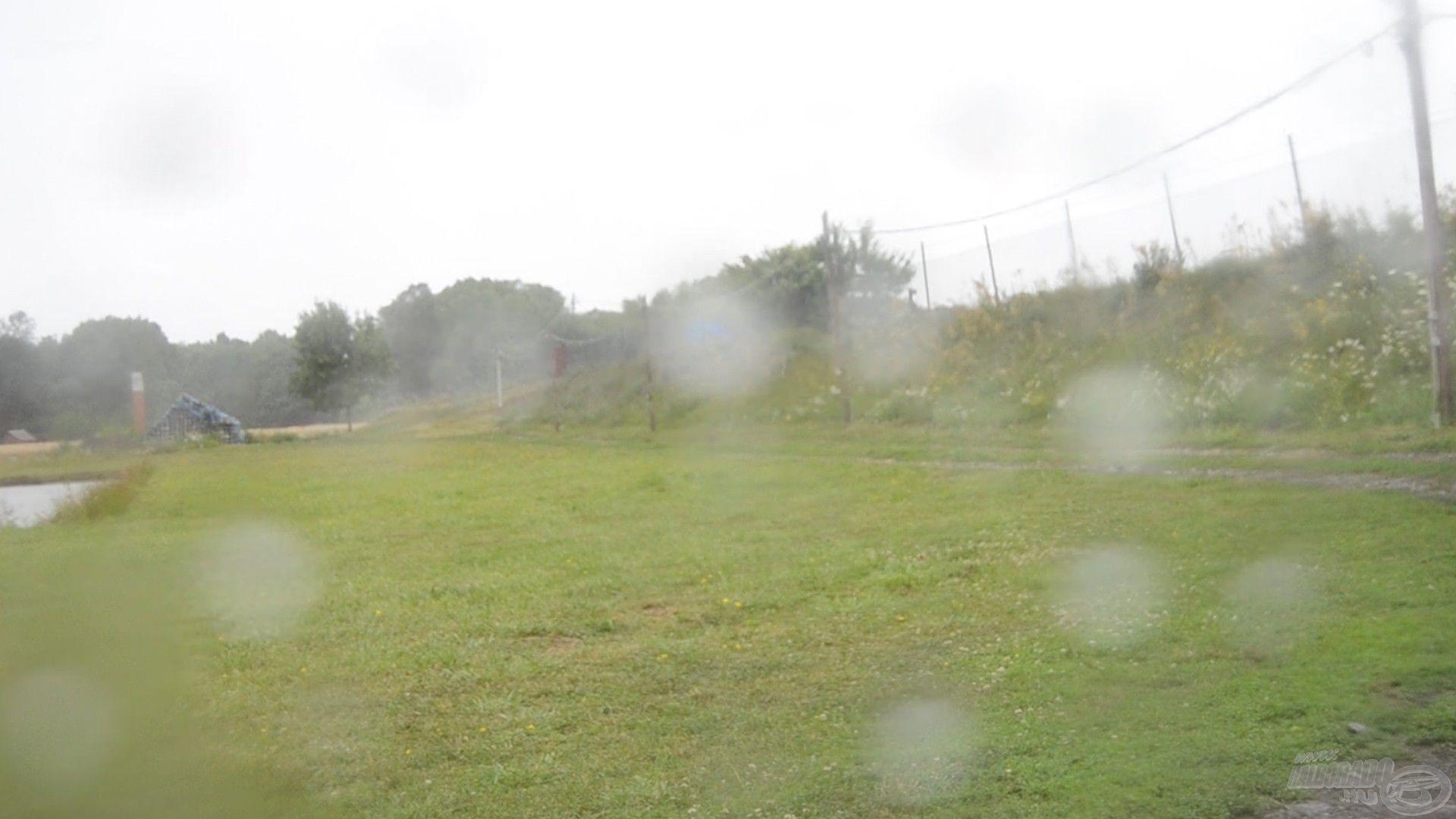 Ebből a nézetből vártuk az eső végét