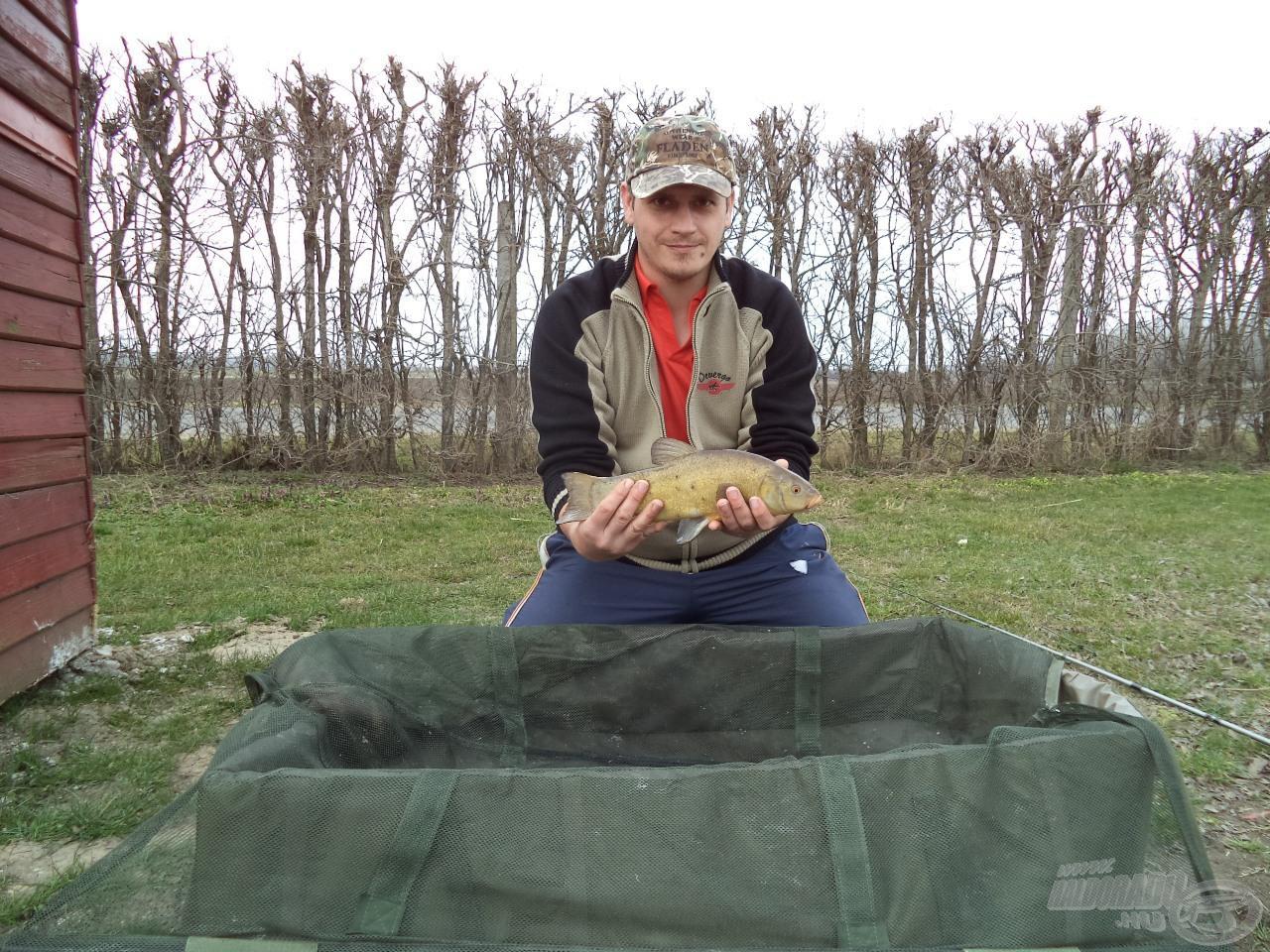 A kétnapos horgászat utolsó hala