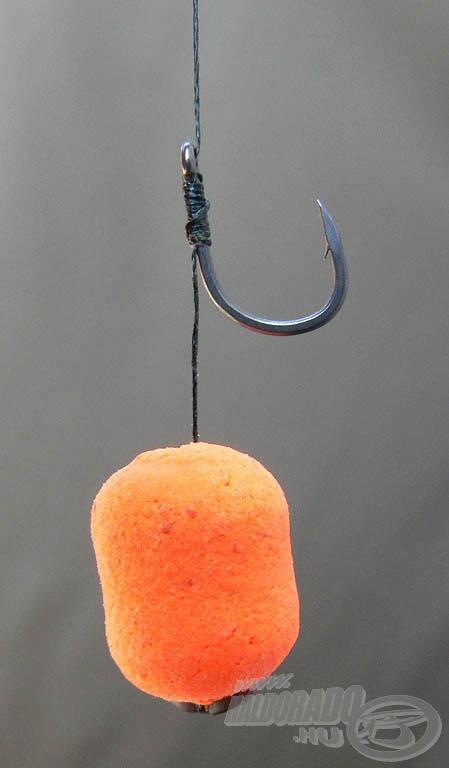 A lapított horoghegy úgy hatol a hal szájába, mint a legélesebb kés
