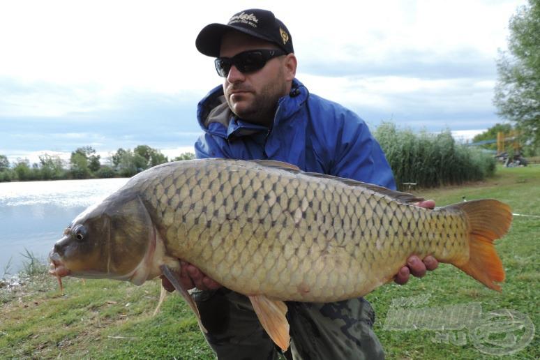 A 12,5 kg-os hal a kukoricás kombinációra jött
