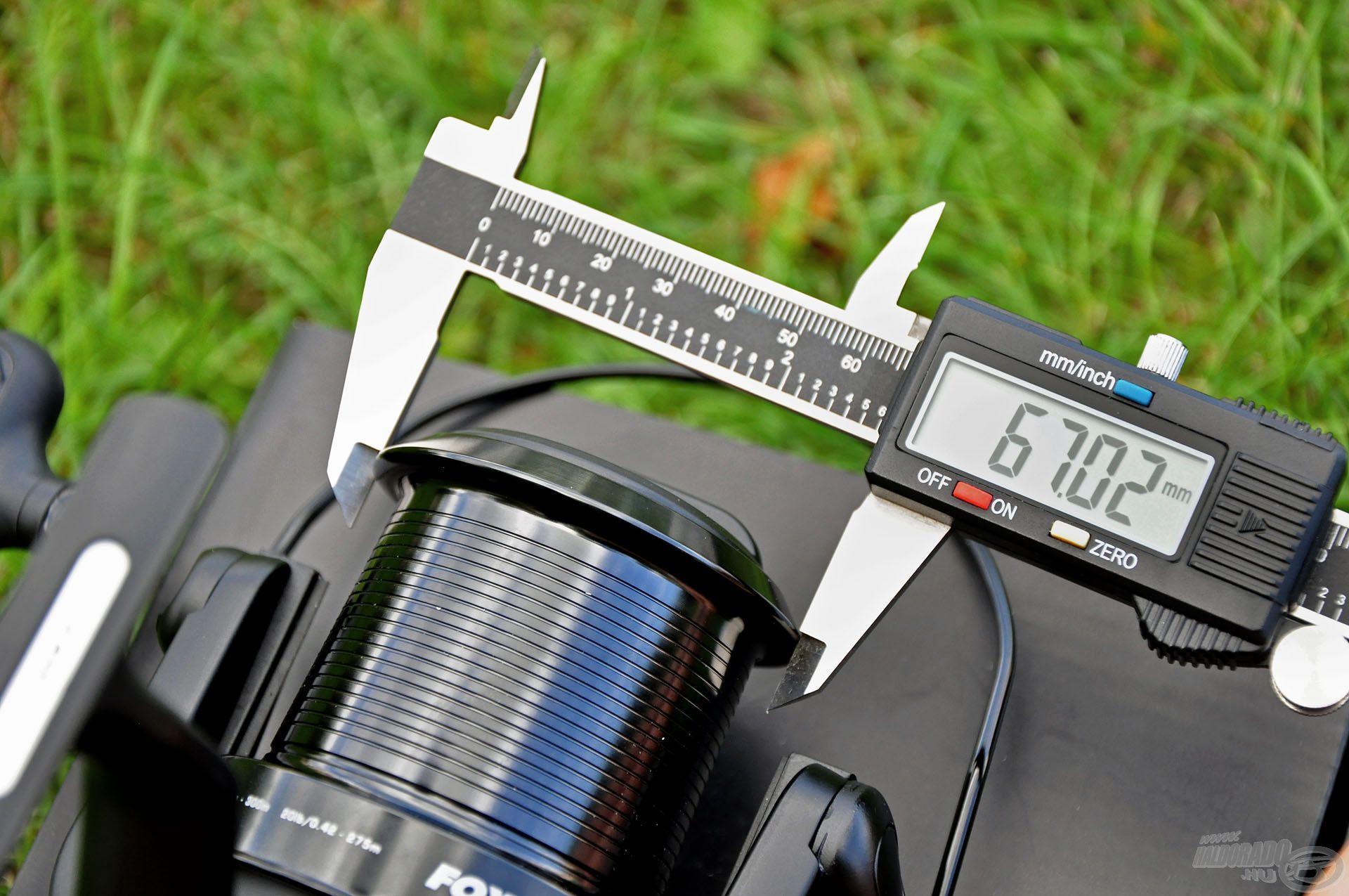 A távoli dobások záloga a nagy átmérőjű, hosszított dob