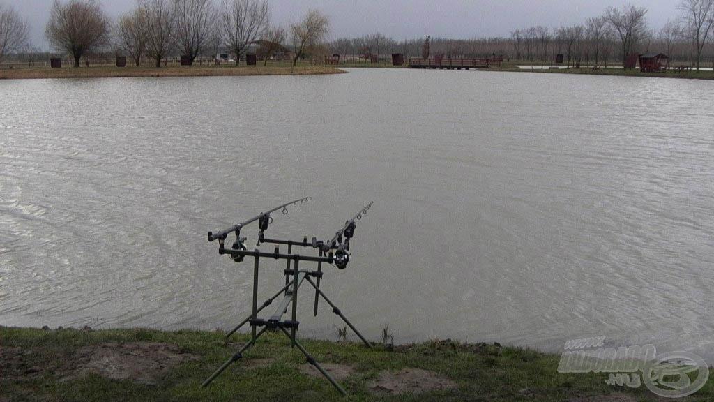 Kora tavaszi pontyhorgászat a Verba tanya horgásztavon