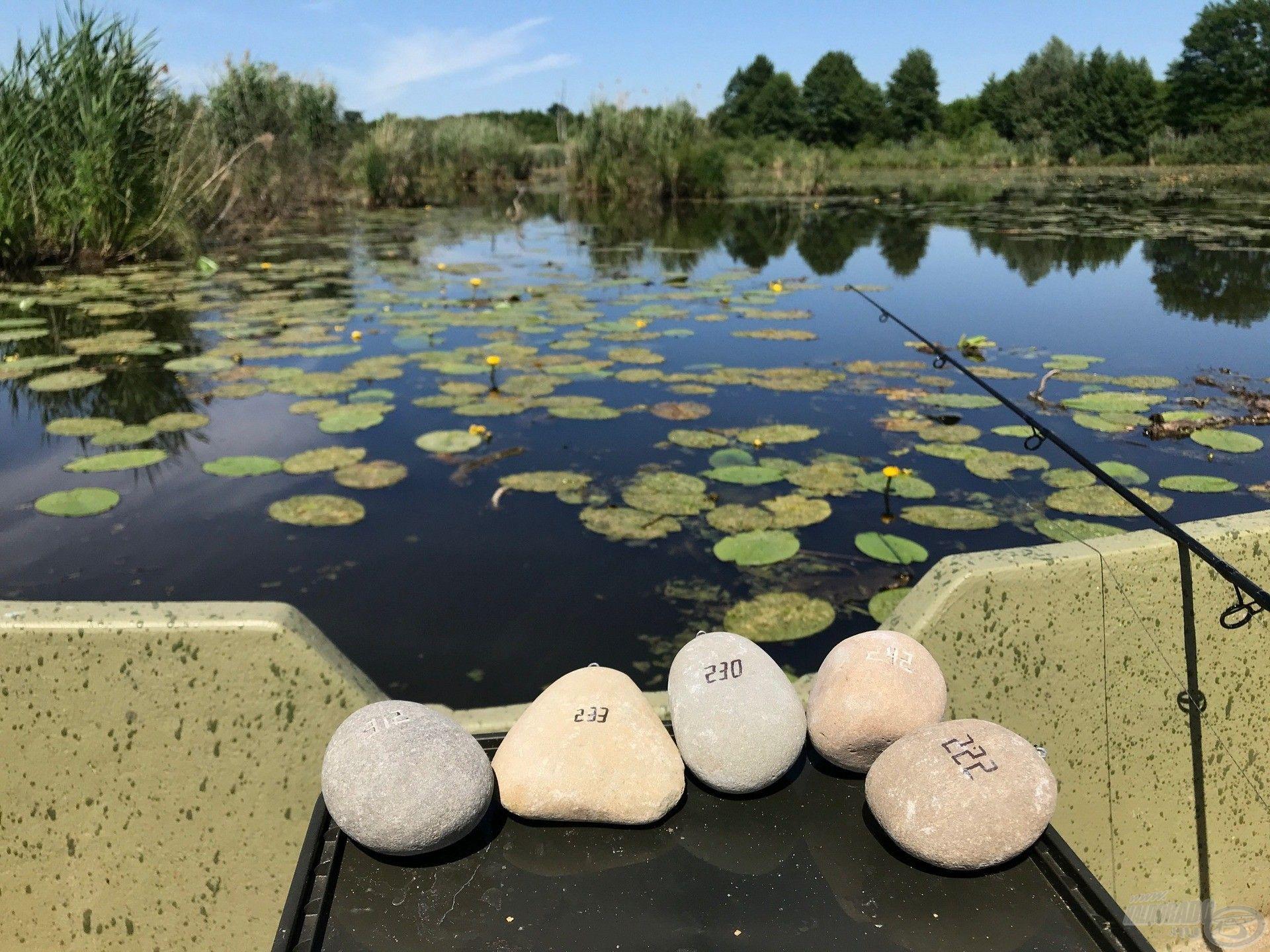 A TiszaStones kősúlyok remek megoldást nyújtanak a nehéz, akadókkal gazdag vizek meghorgászásához
