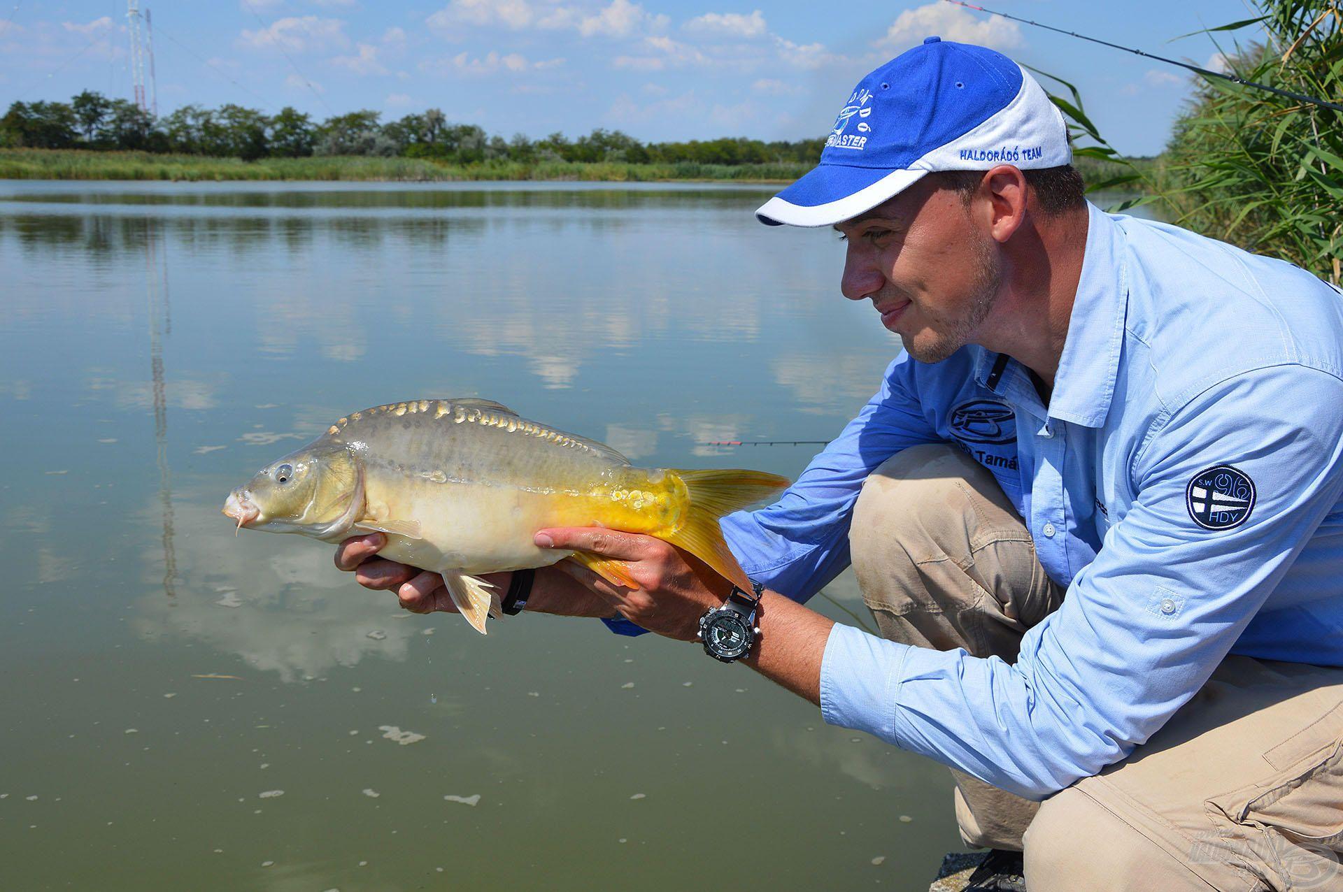 Nem óriási méretű és nem is extra hal, mégis nagyon örültem neki!