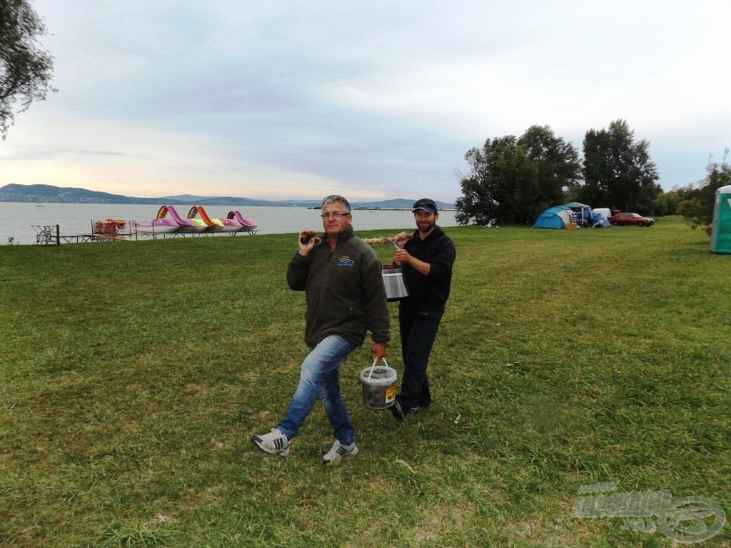 A petrencén érkezett halászlé esete a Balaton-parton
