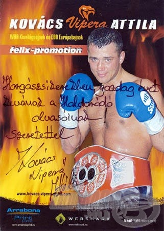 """Kovács """"Vipera"""" Attila személyében egy rendkívül szimpatikus, életvidám sportolót ismertem meg"""