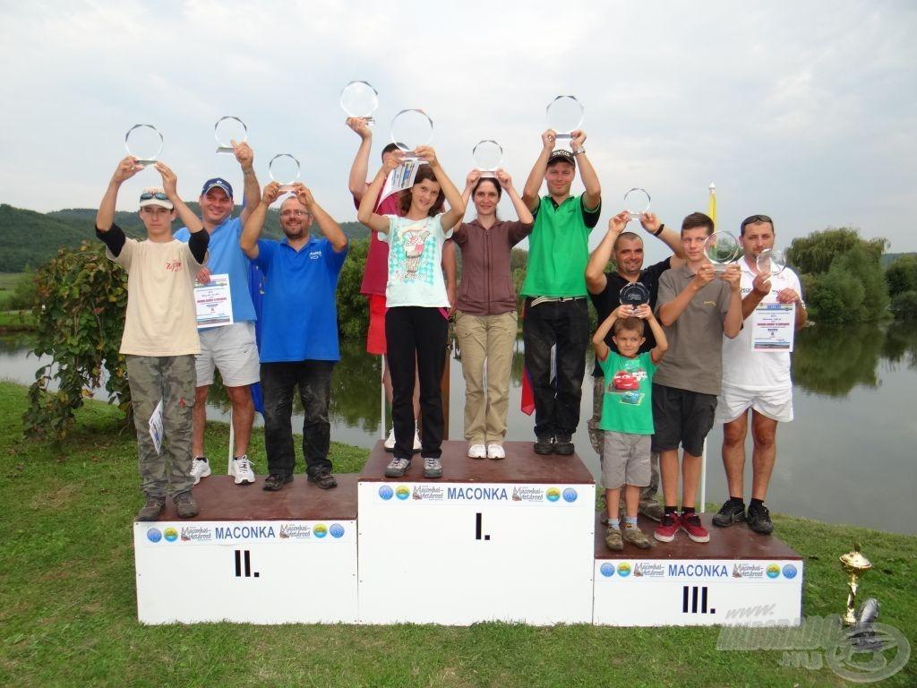 Maconka Barátai '14 Szuperkupa: Az utolsó kör és a bajnokavató eseményei