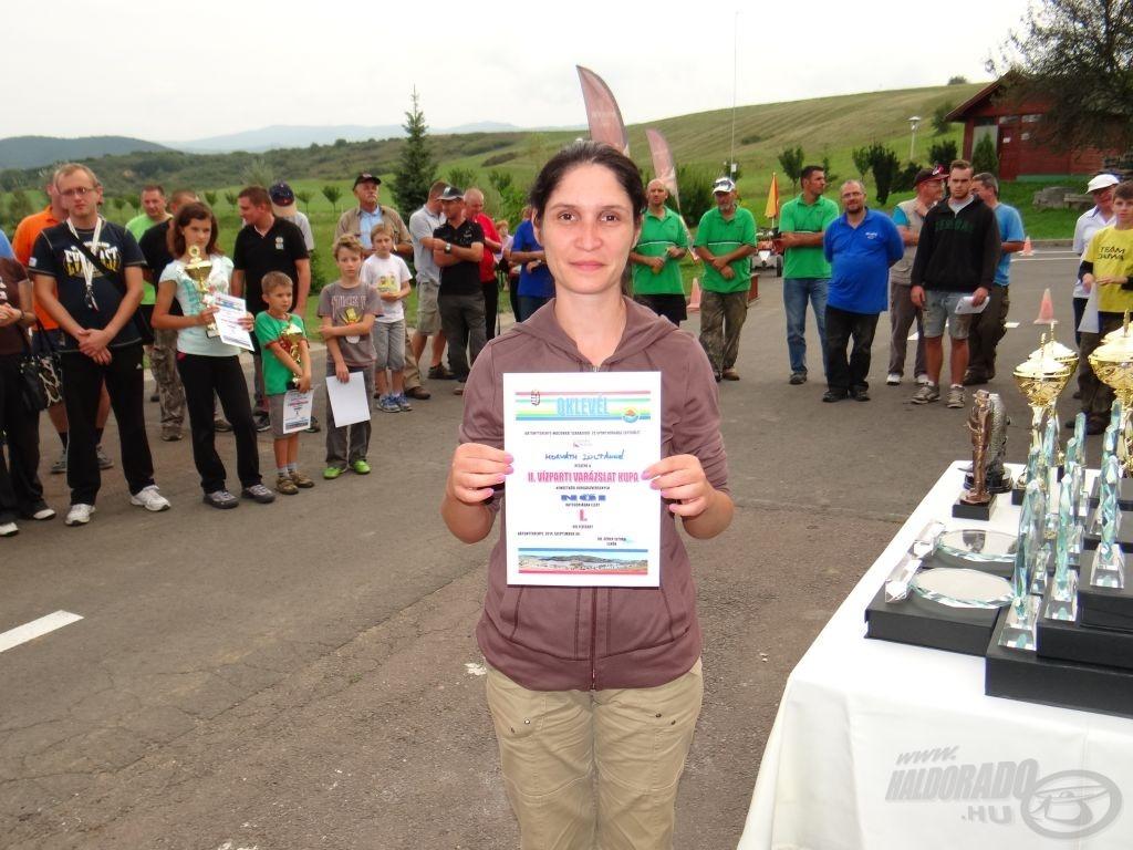 II. Vízparti Varázslat Kupa, a legjobb női versenyző