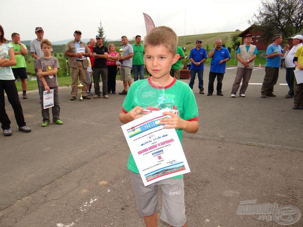 Maconka Barátai '14 Szuperkupa, gyermek bronz: Hegedüs István Gábor