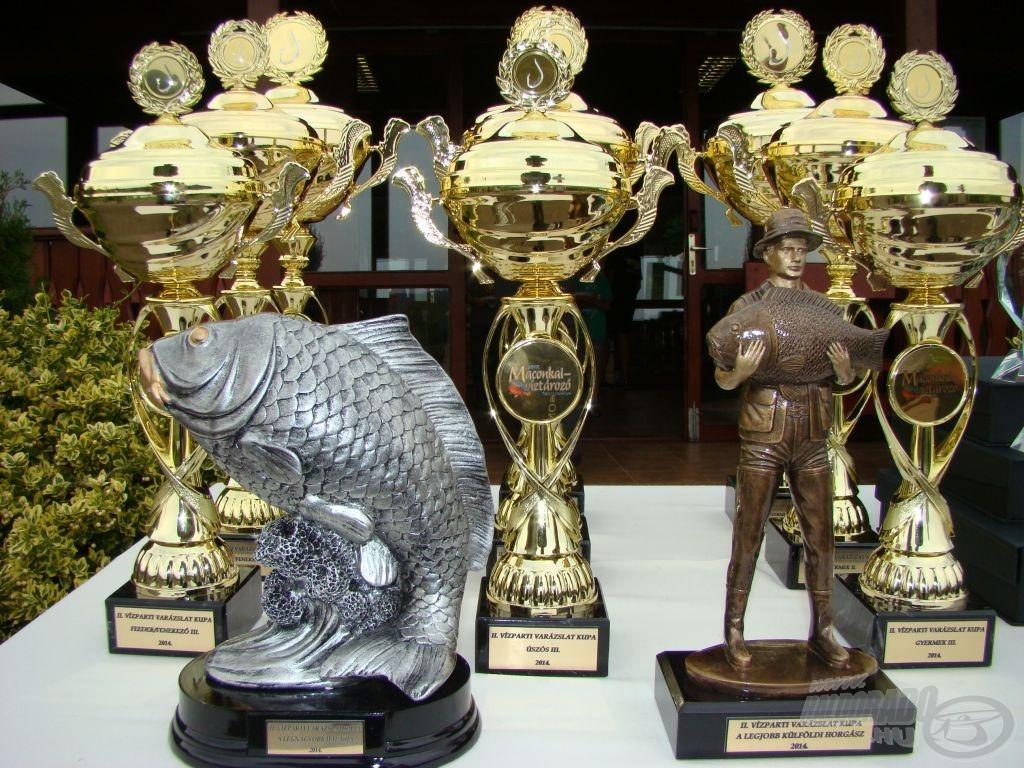 Az 5., záró forduló díjai