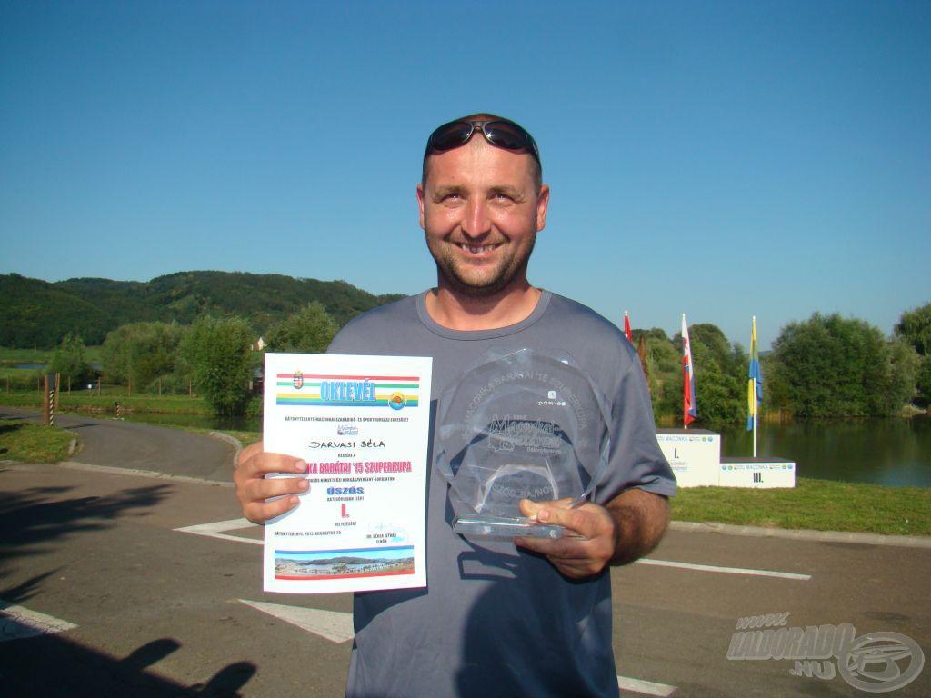 Maconka Barátai '15 Szuperkupa, úszós bajnok: Darvasi Béla