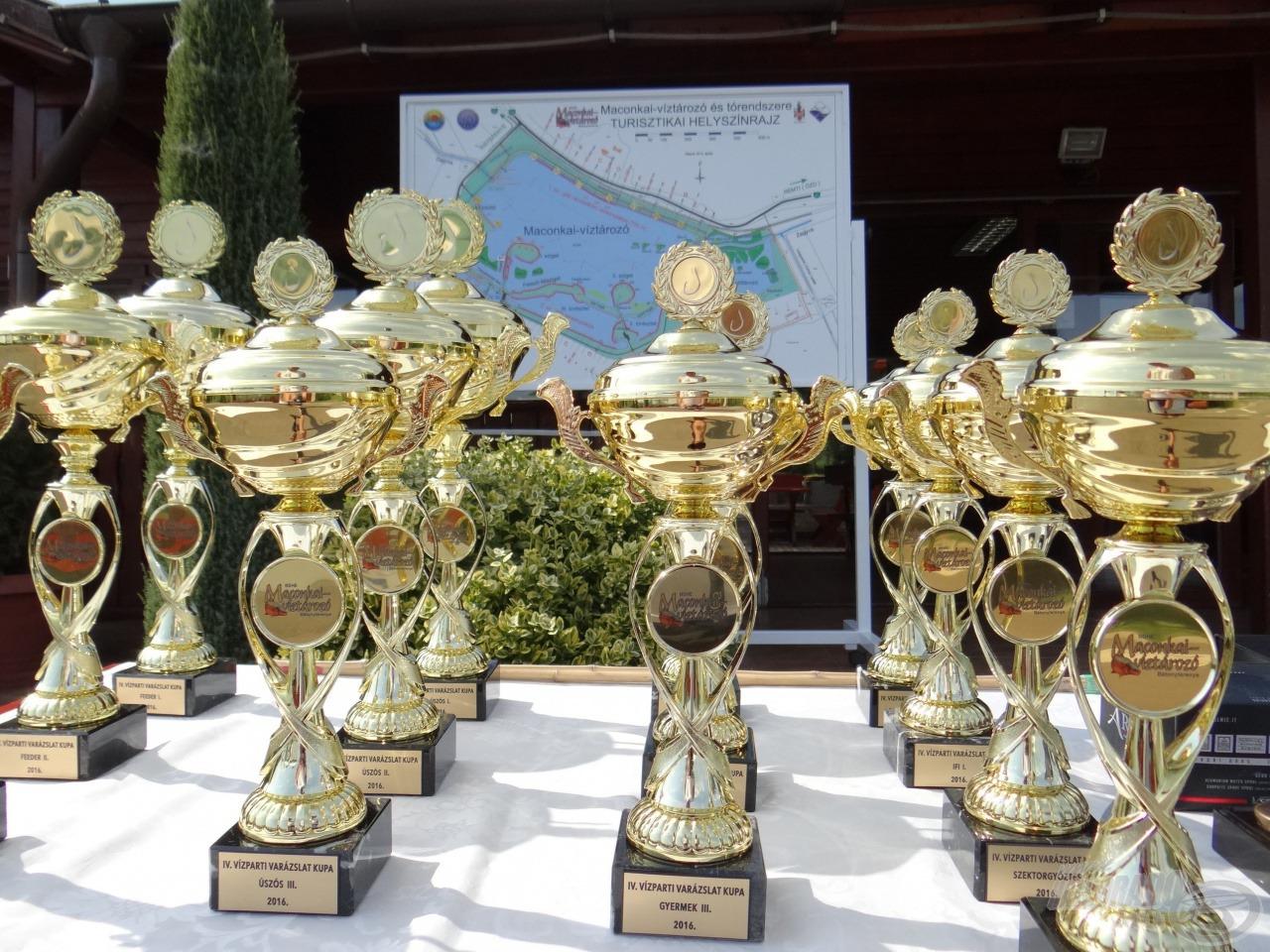 A VVK díjai