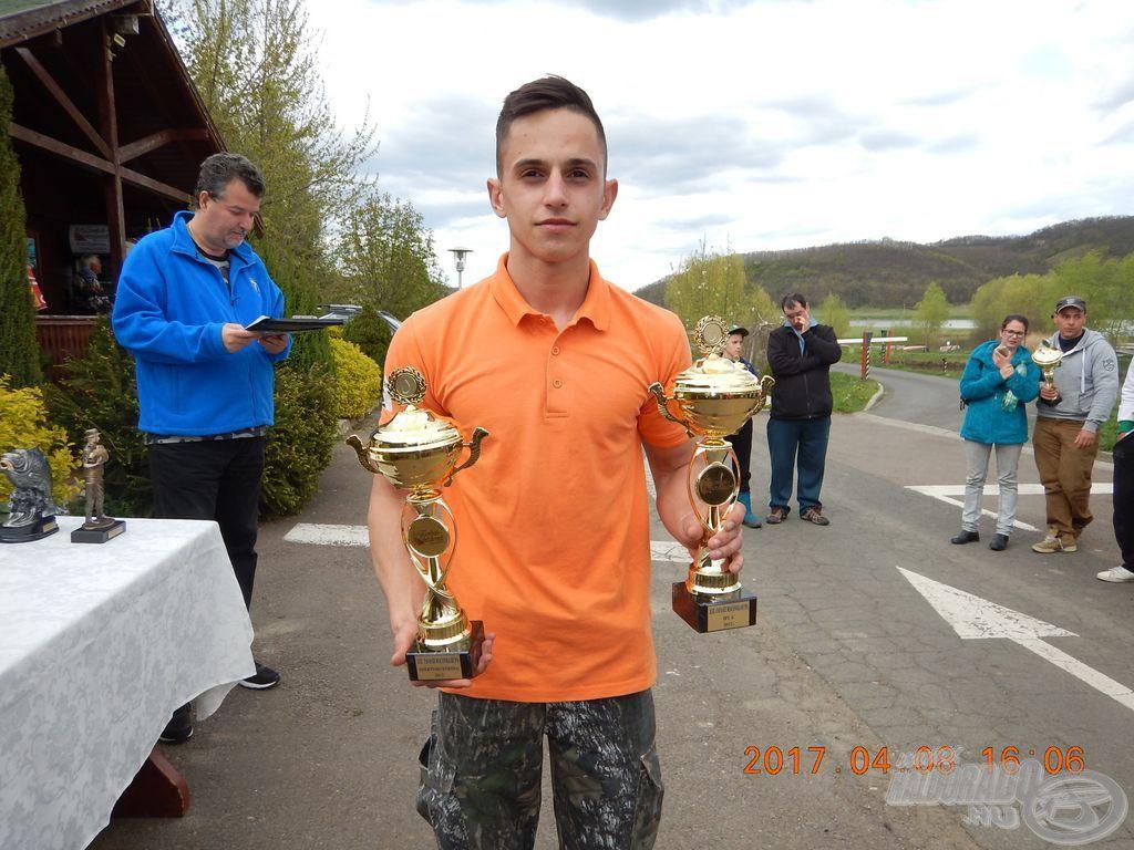 Kállai Alexander Márk: Feeder szektorgyőzelem és a legjobb ifjúsági horgász díja
