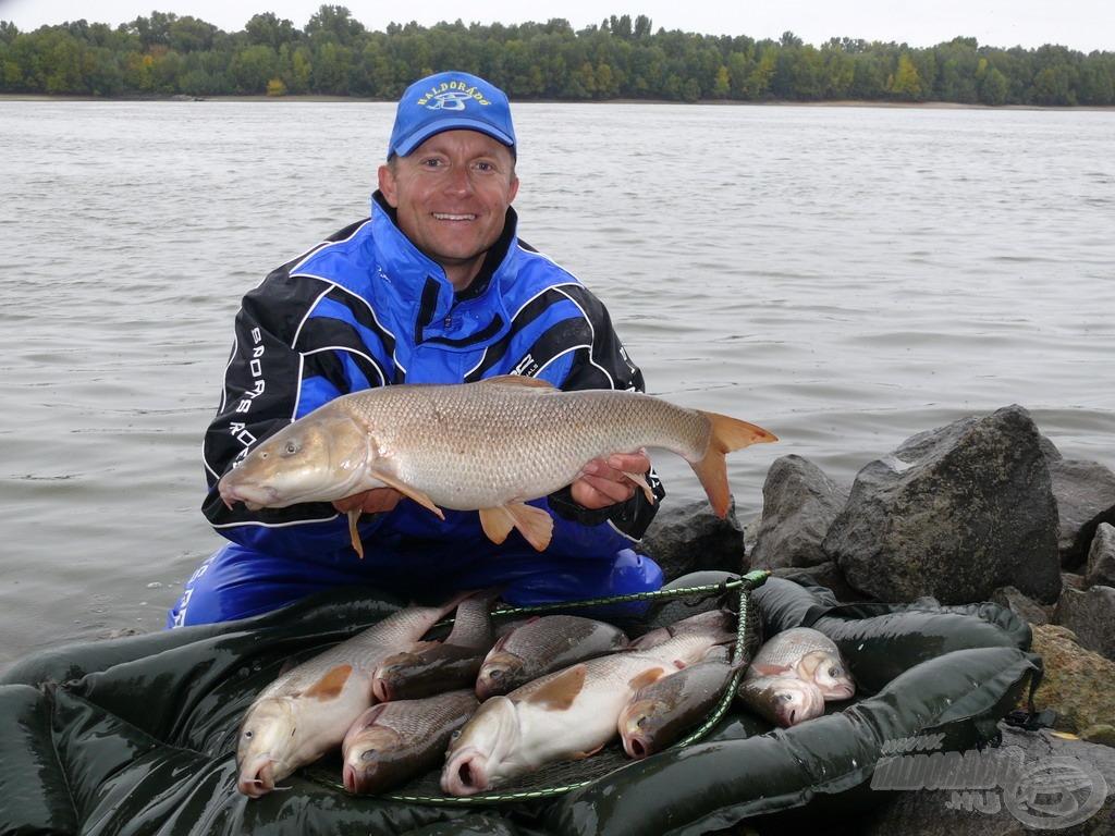 A kitartó horgász jutalma