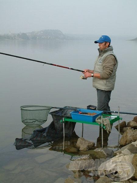 A bolognai bot lehetővé teszi a folyó legharcosabb halainak kifogását is