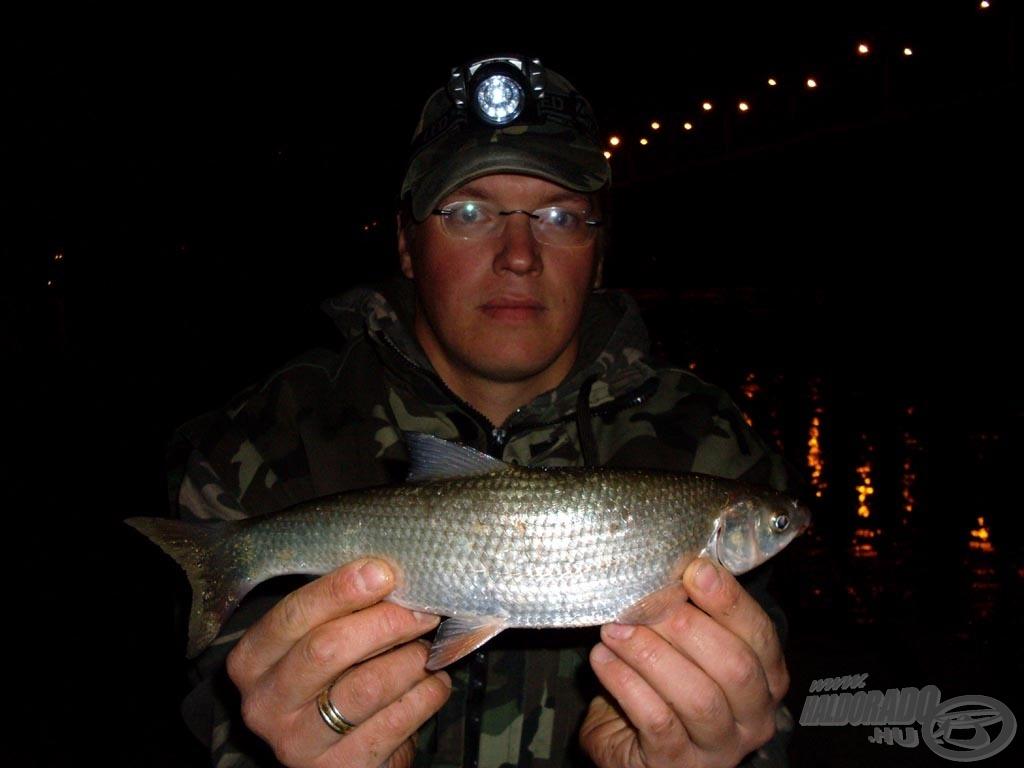 Rá sem célzottan horgásztam