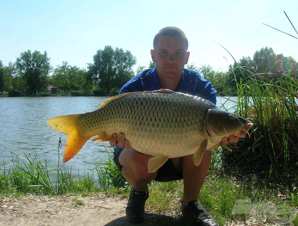 A nap legnagyobb hala: 8,46 kg-os ponty