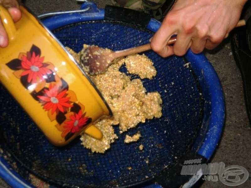 Az egyik legfontosabb adalék: a forrázott kukoricadara