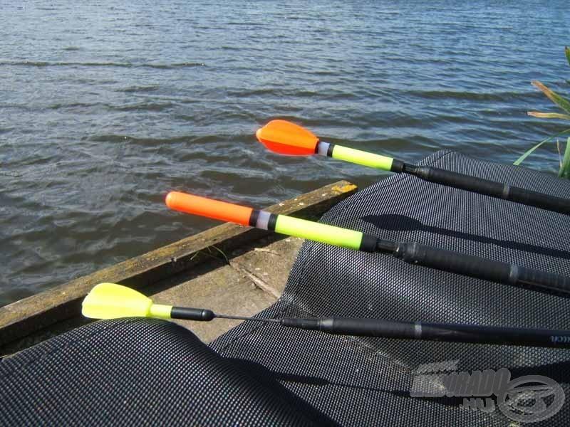 Nagy távolságról is jól látható úszóantennák