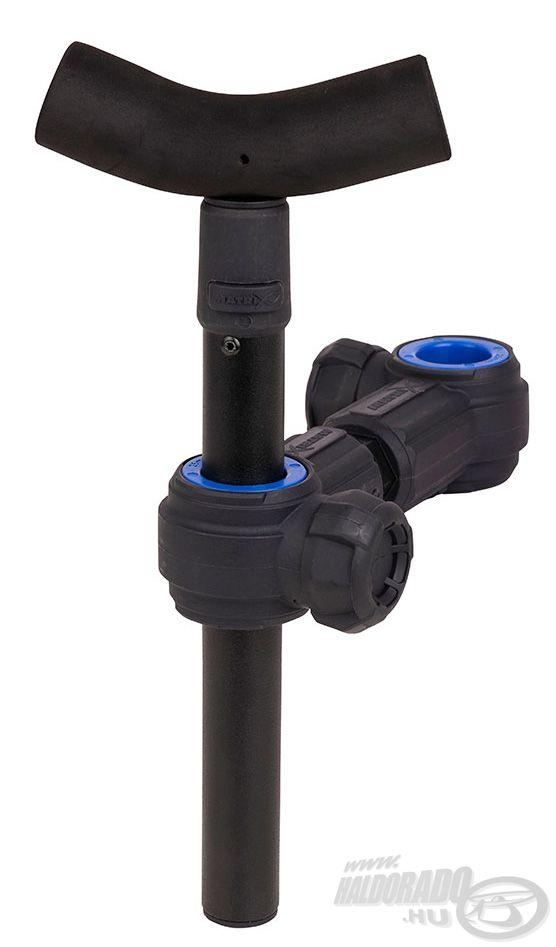Puha EVA fejjel rendelkező, állatható magasságú bottartó adapter