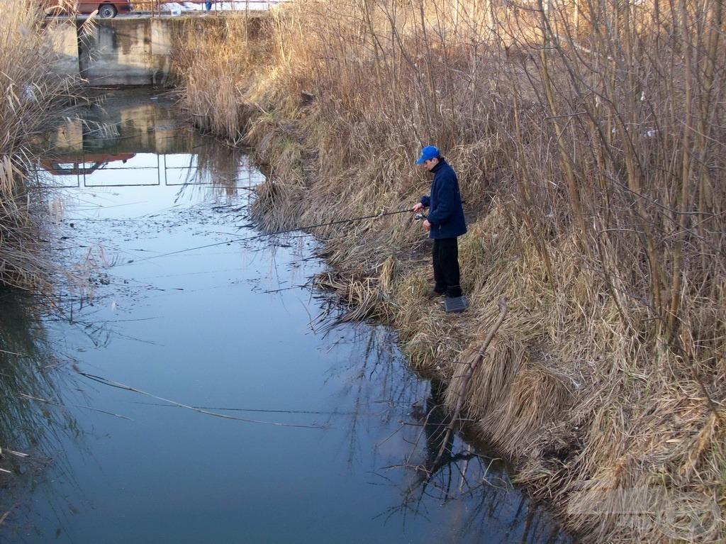 Több helyen is próbáltam halat fogni, kevés sikerrel