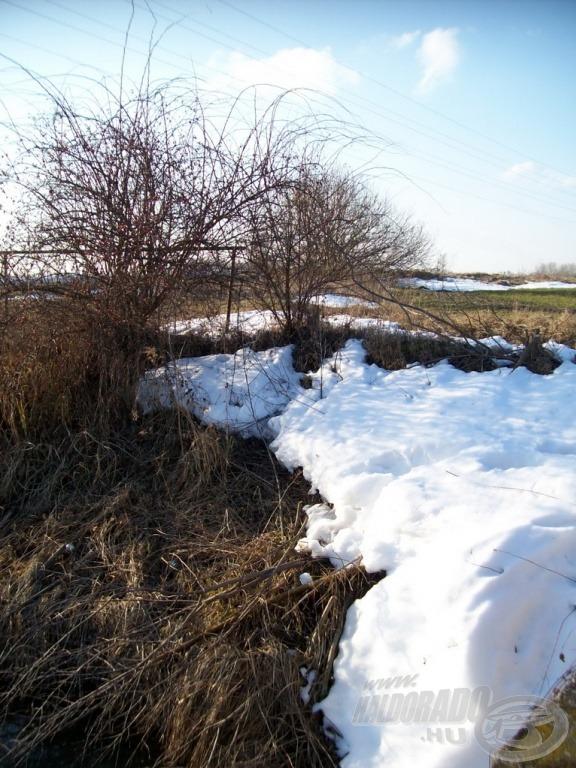 Még nem olvadt el mindenhol a hó