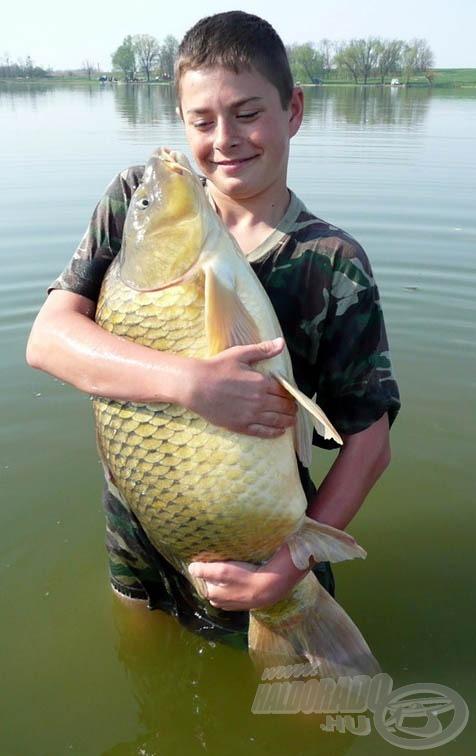 Nagyon jó érzés a hal rabul ejtése, ám még felemelőbb szabadon engedni