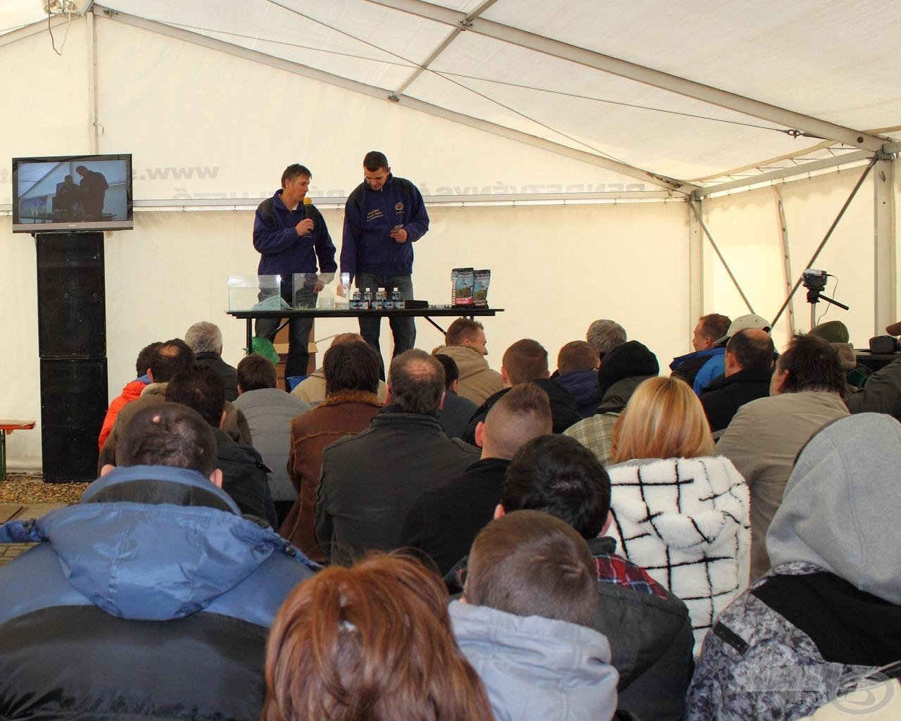 Sipos Gábor és Sisa József a method feederezésről és a hatékony nagyhalas horgászatokról tart majd előadásokat