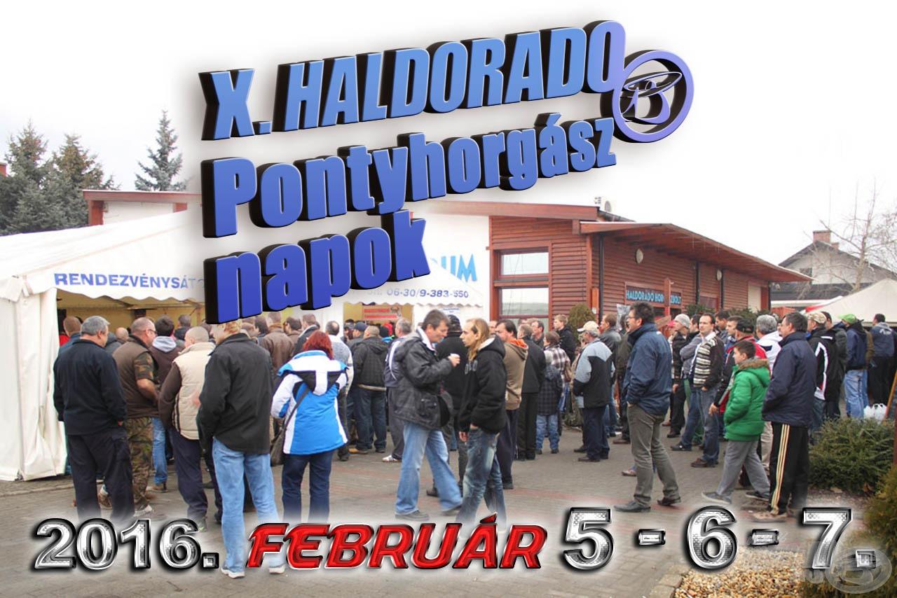 2016 februárjának első hétvégéje a pontyhorgászatról fog szólni