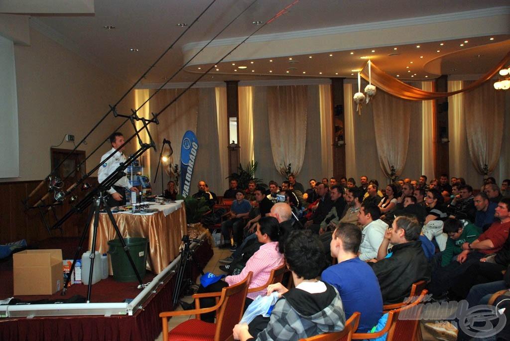 Döme Gábor a Haldorádó 2012. évi újdonságairól tart előadást