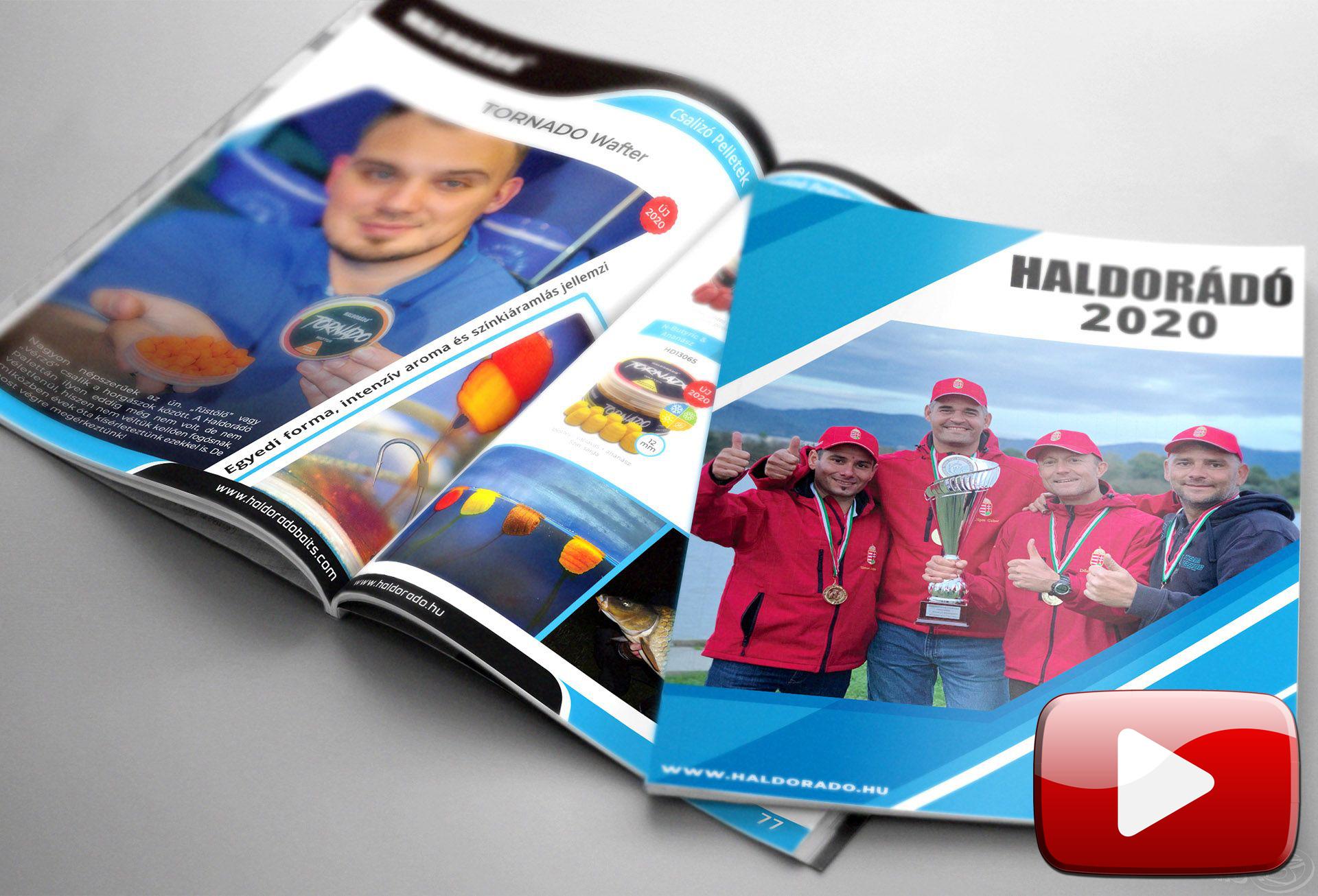 Megjelent a Haldorádó 2020 termékkatalógus, lapozz bele!