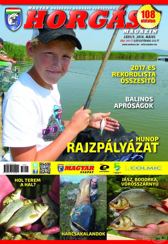 Megjelent a Magyar Horgász 2018. májusi száma
