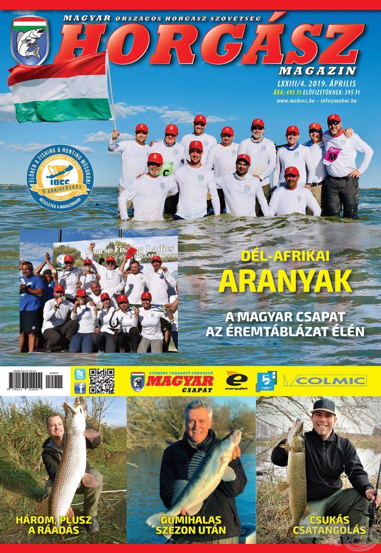 Megjelent a Magyar Horgász 2019. áprilisi száma