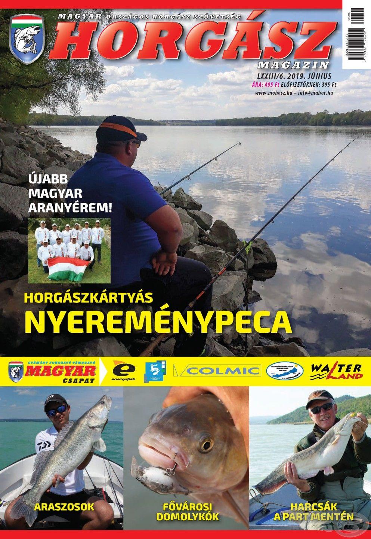 Megjelent a Magyar Horgász 2019. júniusi száma