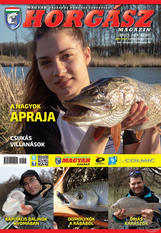 Megjelent a Magyar Horgász 2019. májusi száma