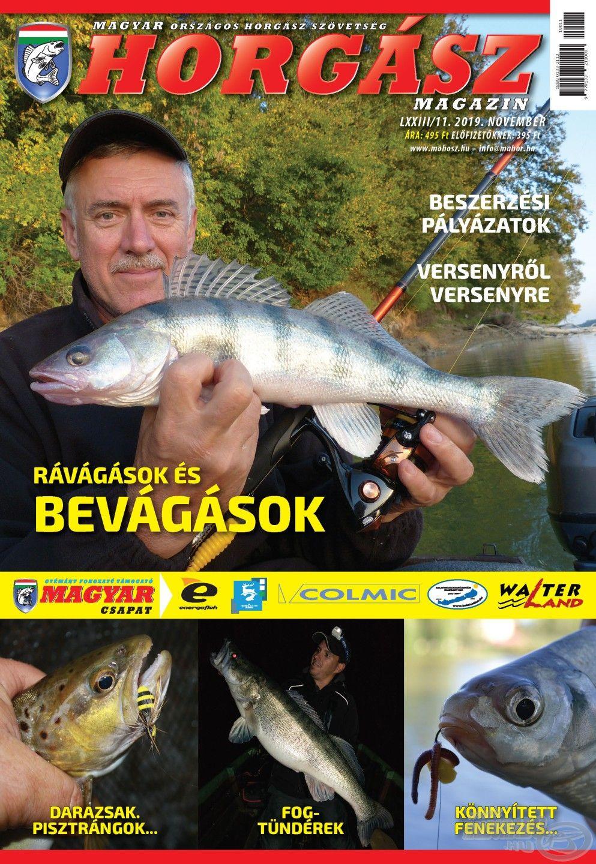Megjelent a Magyar Horgász 2019. novemberi száma