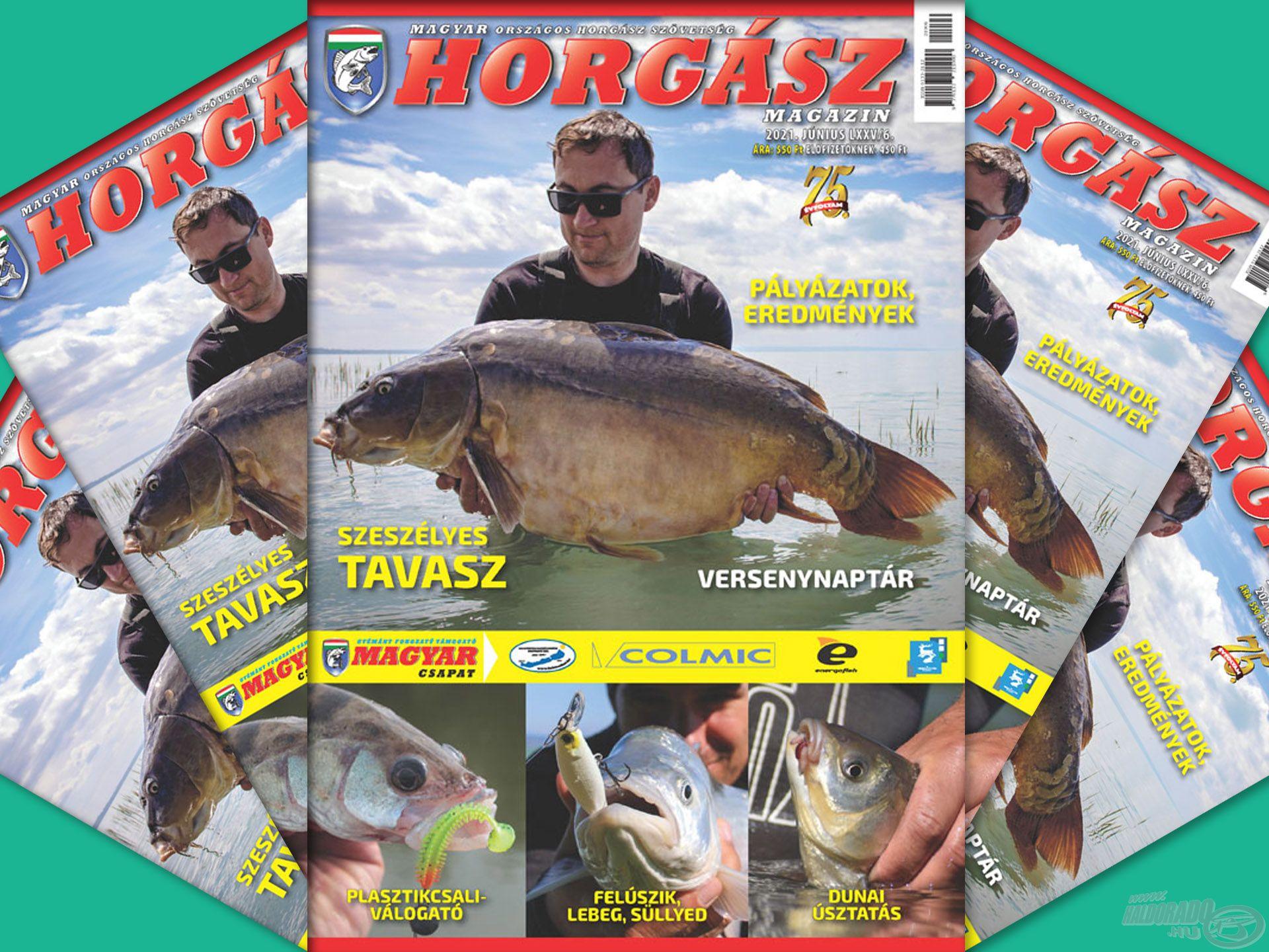 Megjelent a Magyar Horgász 2021. júniusi száma